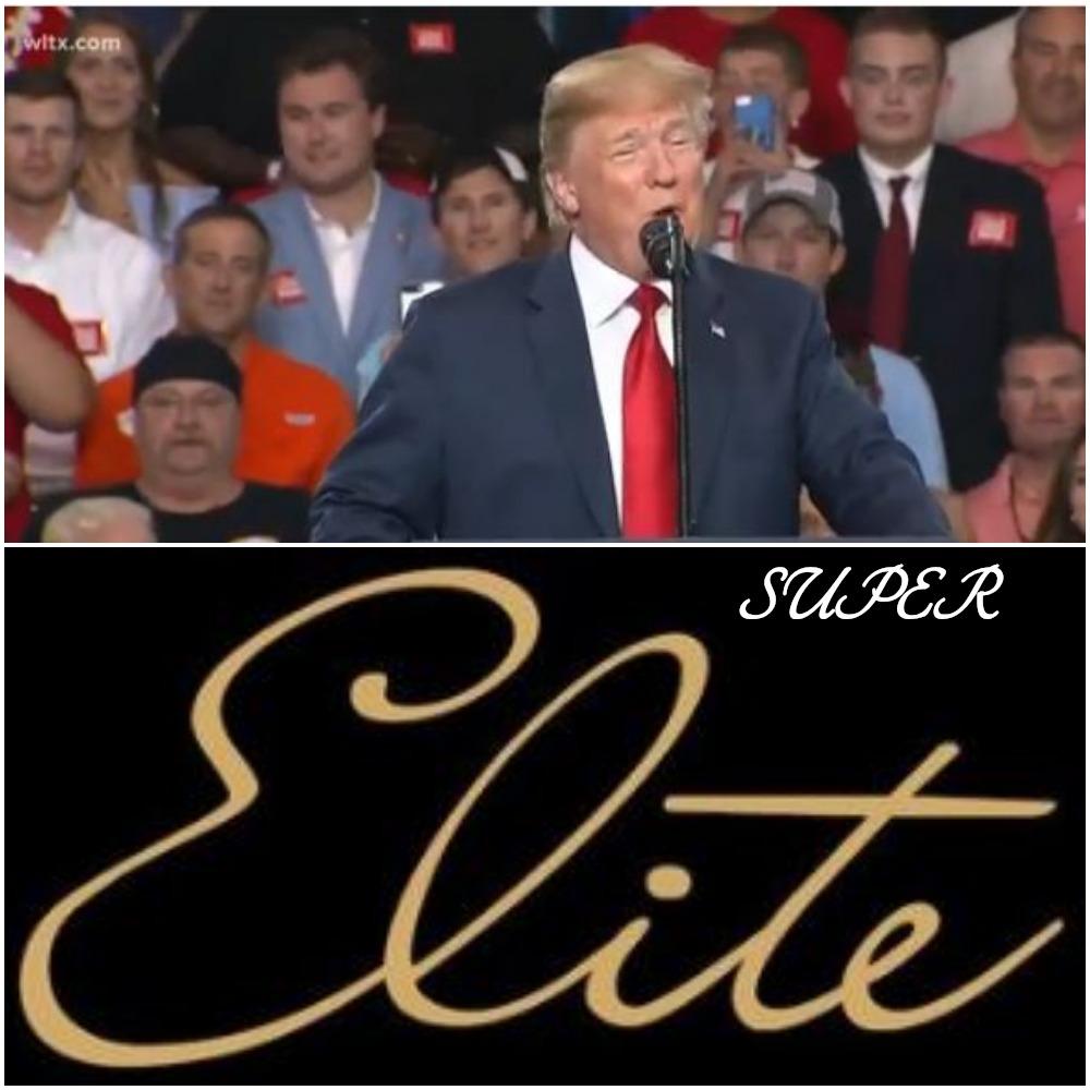 Trump Renames Base: Supporters Now SUPER ELITES
