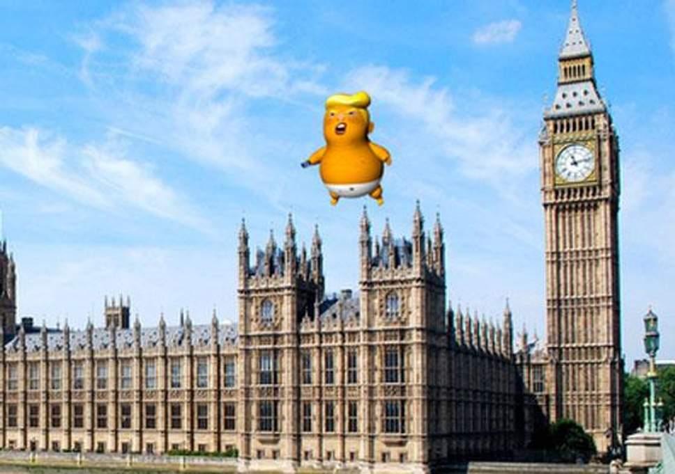 Baby Trump Blimp, Set to Embarrass UK During Trump Visit; Sadiq Kahn Approves Permit