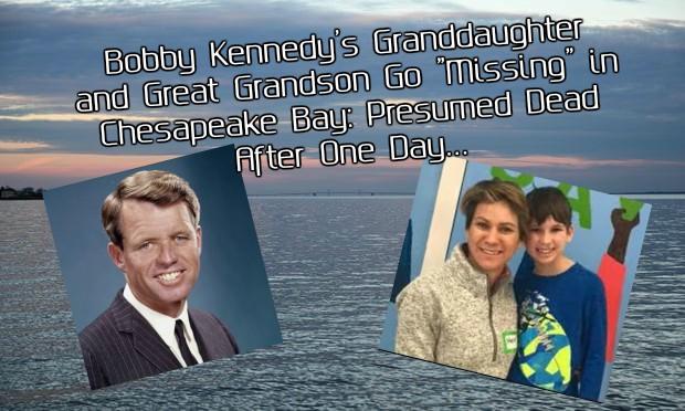 Bobby Kennedy's Granddaughter Maeve & Grandson Gideon Go Missing While Canoeing