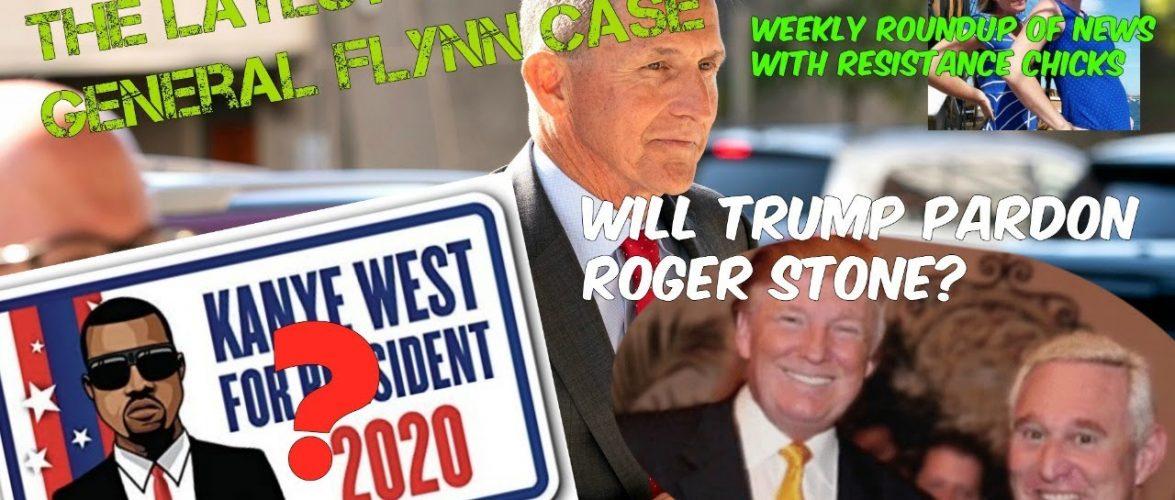 Will Trump Pardon Roger Stone? SCOTUS Ruling; Chinese Virologist Flees HK, Kanye 2020? 7/10/2020