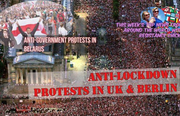 UK & Berlin: Massive Anti-Lockdown Protests; Belarus: Anti-Gov Protests, Top EU/UK News 8/30/2020