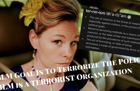 BLM Goal: Terrorize Police… A Terrorist Organization?