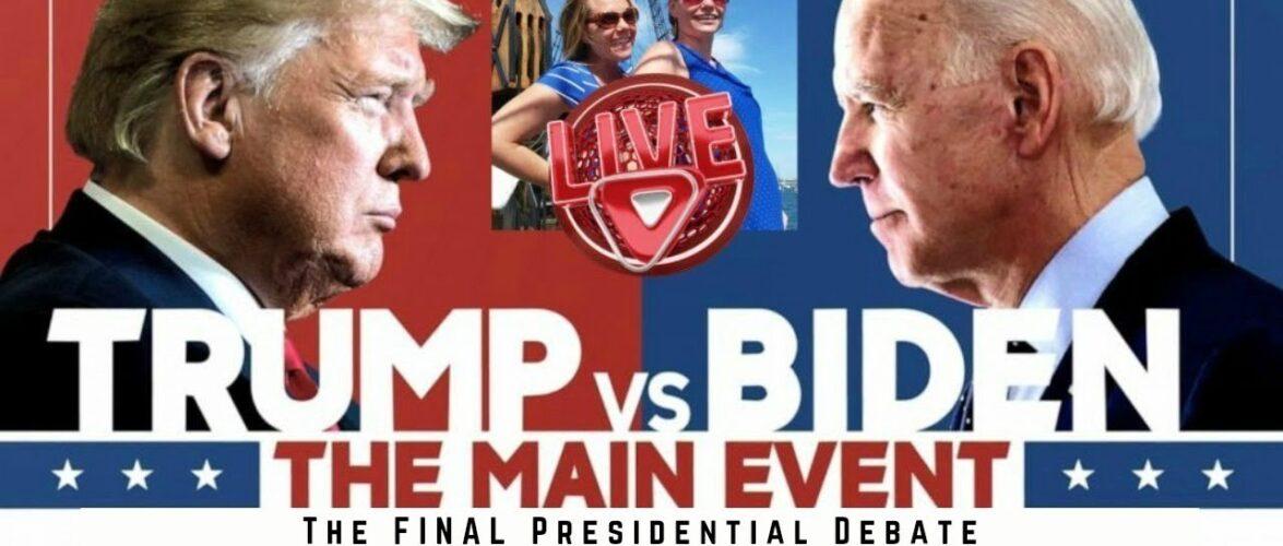 The FINAL Presidential Debate Between President Trump & Democrat Candidate Joe Biden