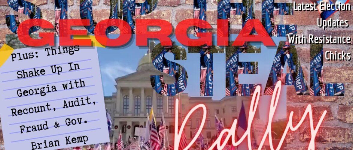 Things SHAKE UP In GA! Lawsuits, Jay Sekulow, Gov. Brian Kemp & Stop The Steal Rally 11/21/2020