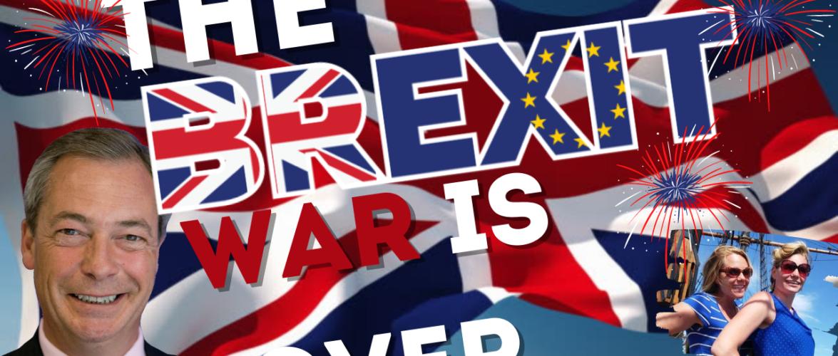 "Nigel: ""The BREXIT War Is OVER""… Plus This Week's TOP EU/UK News"