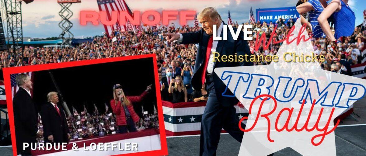 Trump Holds HUGE Rally For Purdue & Loeffler In Georgia For Senate Runoff 1/4/2021