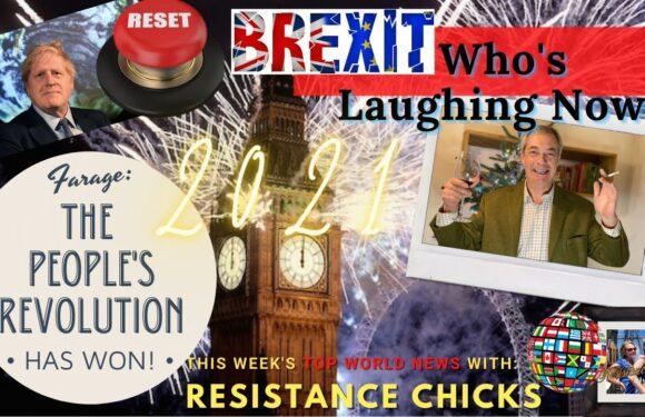 "Farage: ""The People's Revolution Has WON!"" BOJO Tweets Great Reset, Top EU/UK News 1/3/2021"