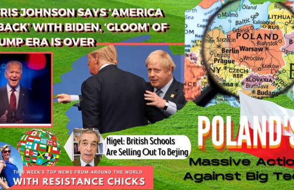 Boris Embraces Biden; Poland's Massive Action Against Big Tech; Top World News 2/21/21