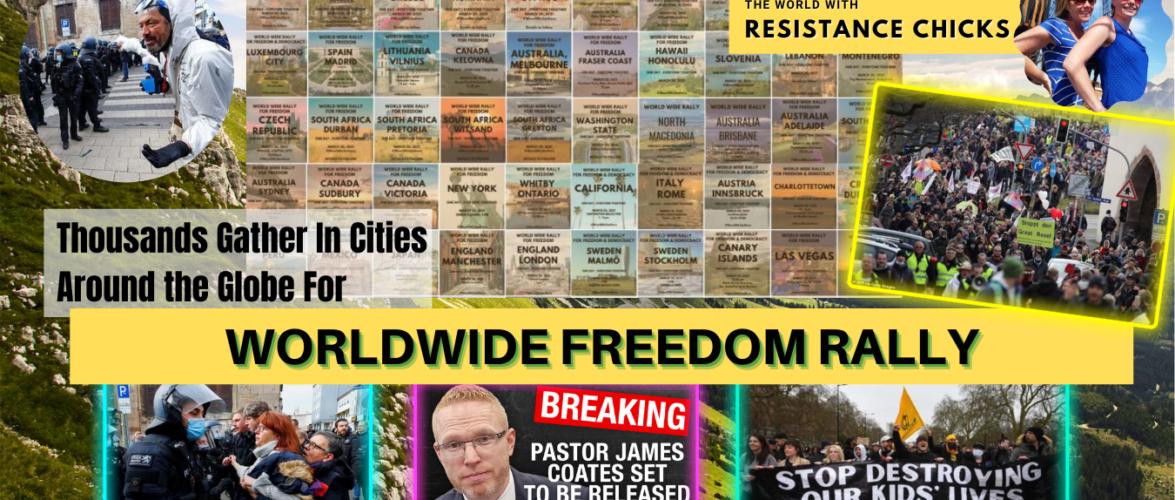 Worldwide Rally For Freedom, Massive Anti-Lockdown Protests; Top EU/UK News 3/21/21